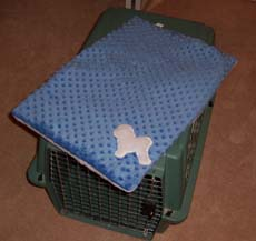 blue crate pad